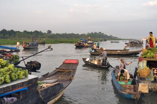 Cai Be, Mekong Delta, Cai Be floating Market