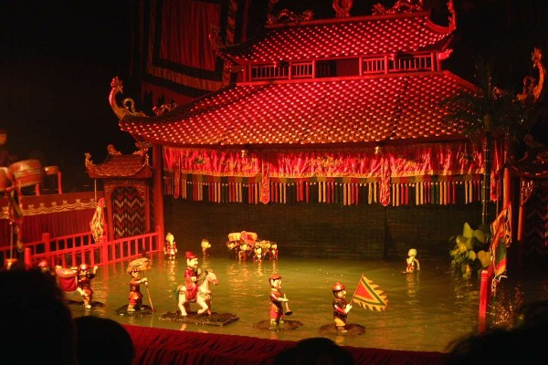 Hanoi Water Puppet show, Hanoi, Thang Long Water Puppet Theatre