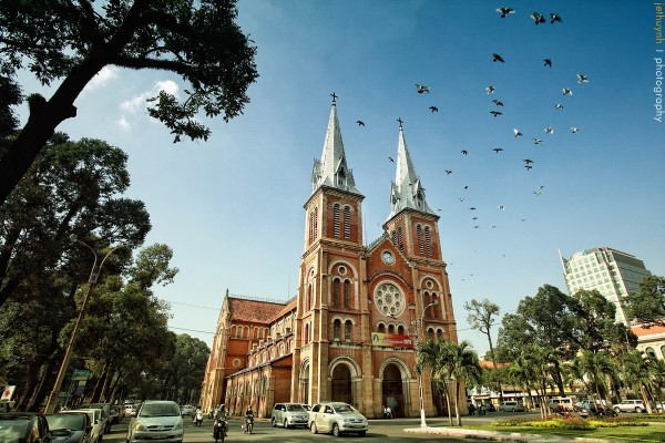 Notre Dame Cathedral - Saigon, Saigon Travel, Saigon City Tour