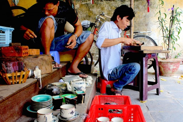 The workshop of traditional occupation of Hoi An ancient town, Hoi An