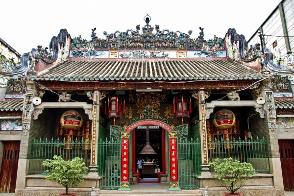 Thien Hau Temple in Saigon, Saigon Tour, Saigon Travel