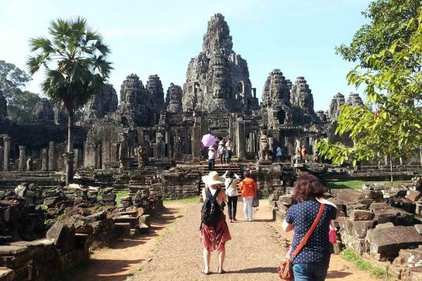 Angkor Thom, Angkor Thom Temple in Siem Reap, Travel