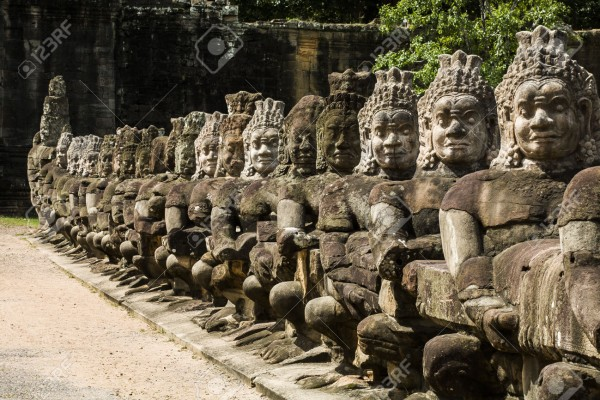 angkor thom temple, angkor temples, angkor wat photo