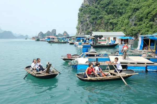 Ba Hang Fishing Village, Halong Bay, Halong Bay Boat Trip