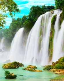 Ban Gioc Waterfall, Ban Gioc Waterfall Travel, Ban Gioc Waterfall Tour