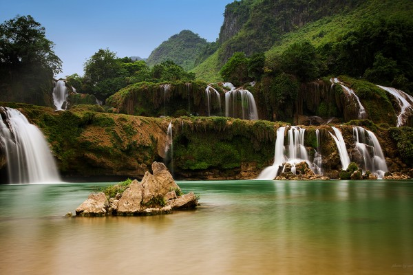 Ban Gioc Waterfall , Ban Gioc Waterfall in Cao Bang