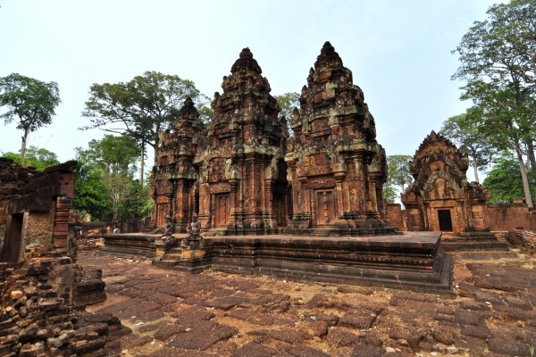 Banteay Srei Temple, Banteay Srei Temple in Siem Reap, Cambodia Tour