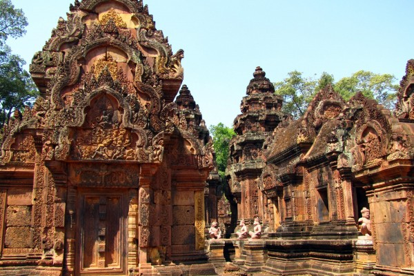 Banteay Srei Temple, Banteay Srei Temple Travel, Siem Reap