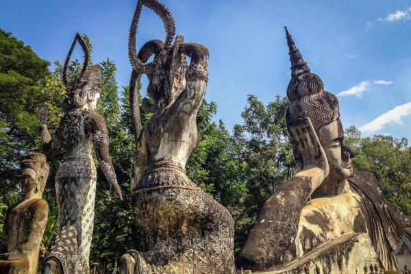 Buddha Park in Vientiane, Vientiane, Laos