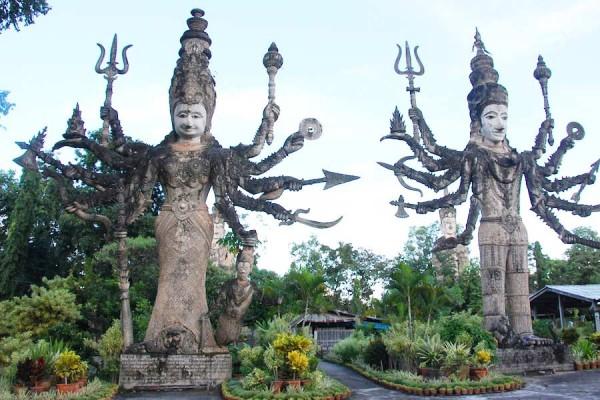Buddha Park in Vientiane, Laos Holidays