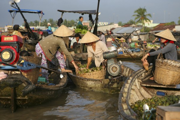 Cai Rang Floating Market, Can Tho, Can Tho Travel Guide