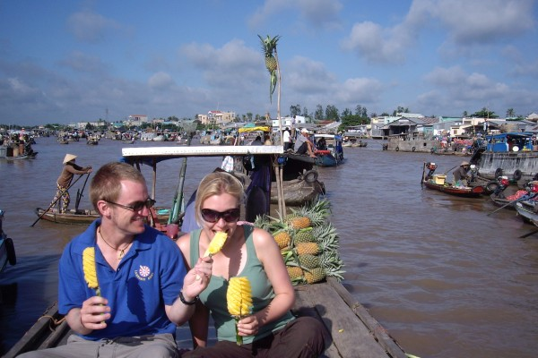 Cai Rang Floating Market, Can Tho City, Can Tho Tour
