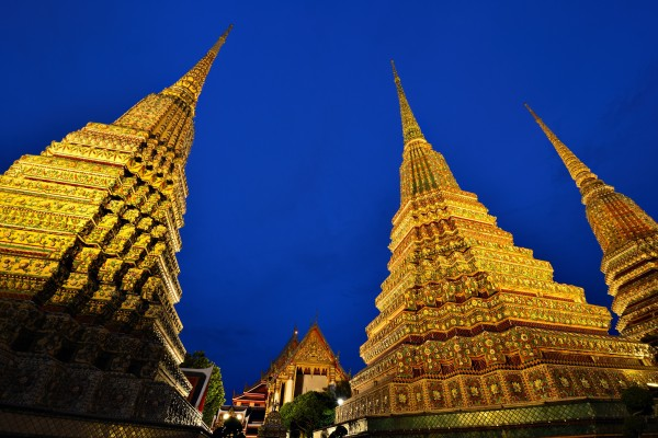 Chedis of the Kings, Chedis of the Kings in Bangkok