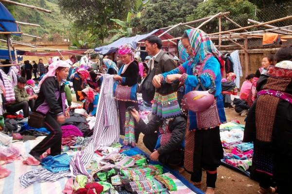 Coc Ly Market, Coc Ly Market in Lao Cai, Lao Cai