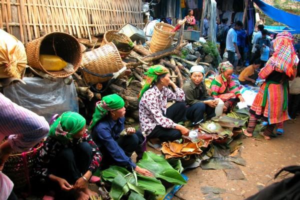 Coc Ly Market, Sapa, Lao Cai