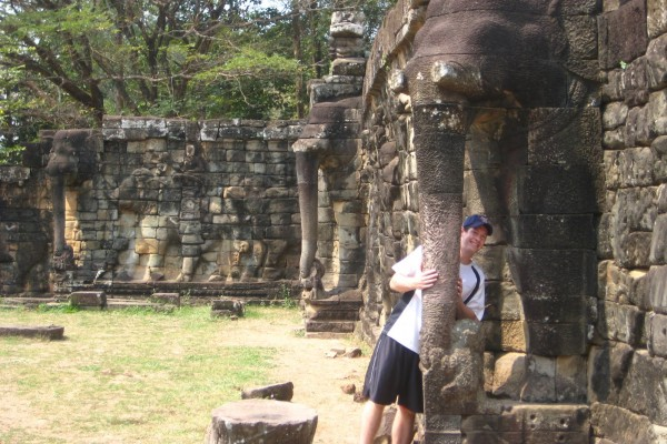 Elephants Terrace Temple, Angkor Thom, Angkor Wat