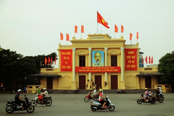 Hai Phong Opera House, hai phong travel, hai phong tour, how to travel hai phong
