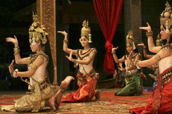khmer apsara dance show, dance show tour cambodia