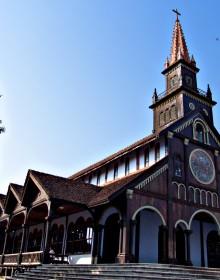 Kontum Church, Kontum Tour, kontum Travel