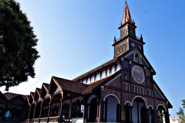 Kontum Church, Kontum Tour, kontum Travel