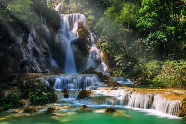 Kuang Si Falls, Kuang Si Falls in Luang Prabang, Luang Prabang Tour