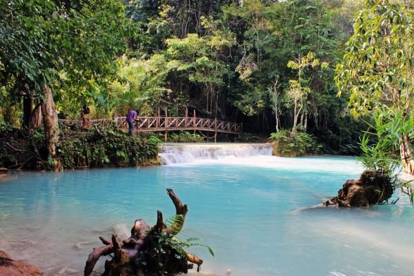 Kuang Si Falls, Kuang Si Falls Tour, Travel to Kuang Si Falls