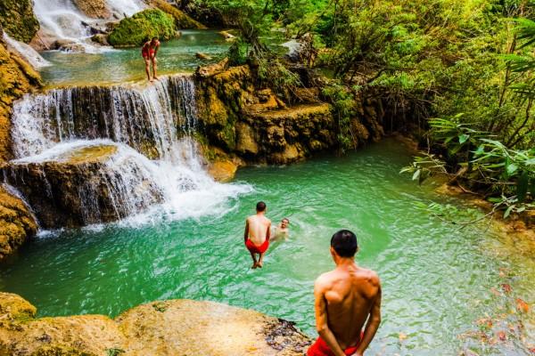 Kuang Si Falls, Kuang Si Falls Tour, Kuang Si Falls in Luang Pranang