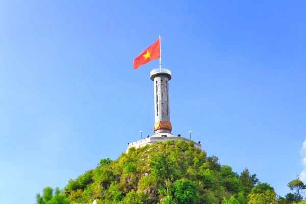 Lung Cu flag Tower, Ha Giang, Ha Giang Province.