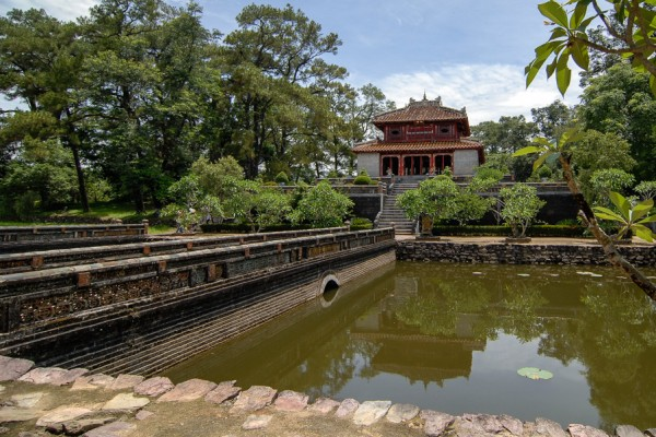 Minh Mang Tombs, Hue, Hue Pagoda
