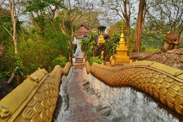 Mount Phousi, Mount Phousi in Luang Prabang, Travel to Luang Prabang