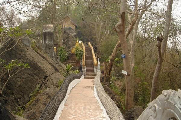Mount Phousi, laos tour