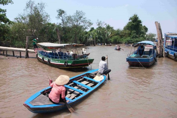 My Tho, My Tho Boat Trip, Ben Tre