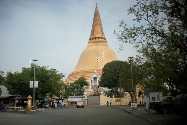 Nakhon Pathom in Kanchanaburi, Kanchanaburi, Thailand