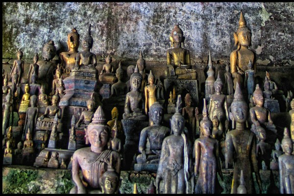 Pak Ou Caves, Pak Ou Caves in Luang Prabang