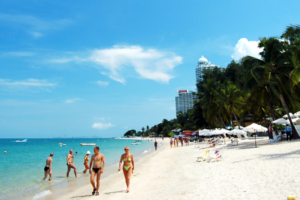 Pattaya Beach, Pattaya Beach in Thailand