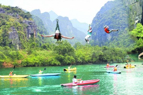 Phong Nha Caves, Nhat Le River, Phong Nha Ke Bang