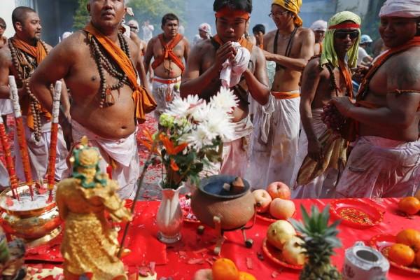 Phuket Vegetarian Festival, Phuket, Thailand