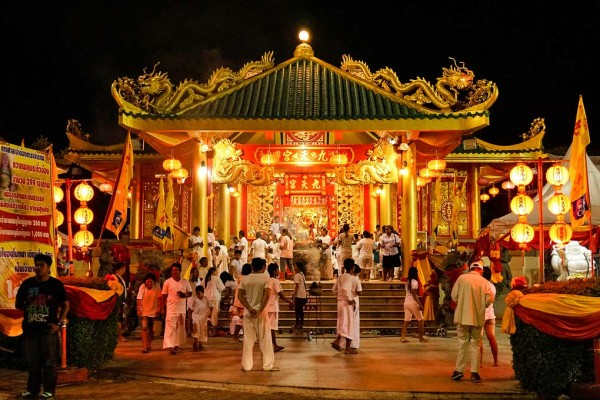 The Put Jaw Chinese Taoist Temple, Phuket, Thailand