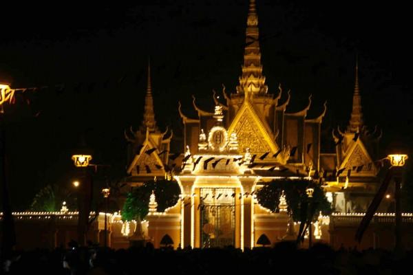 Royal Palace, Phnom Penh Hotel, Phnom Penh in Cambodia