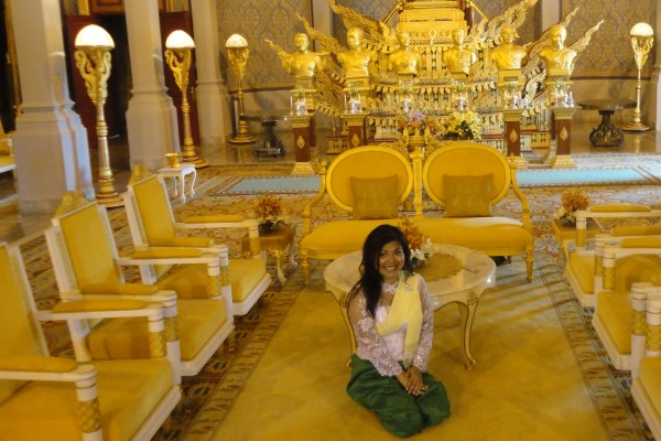 Royal Palace, Royal Palace in Phnom Penh Cambodia