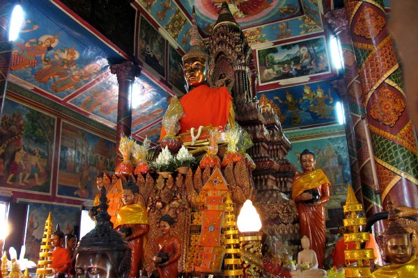 Silver Pagoda, Royal Palace in Phnom Penh, Holiday, Travel, Tour
