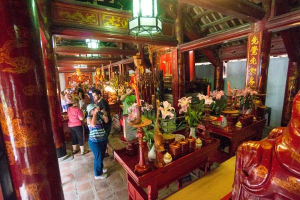 Temple of Literature, Temple of Literature in Hanoi