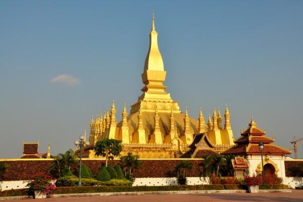 That Luang Stupa, That Luang Stupa in Vientiane