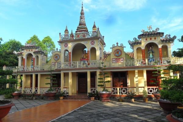 Tien Chau Pagoda, Vinh Long, Vinh Long Boat Trip