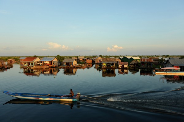 Tonle Sap Lake Boat Trip A Half Day