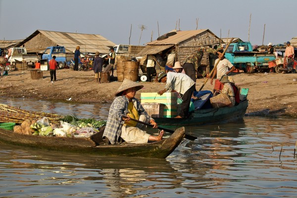 Tonle Sap Lake, Siem Reap in Cambodia, Cambodia Tour