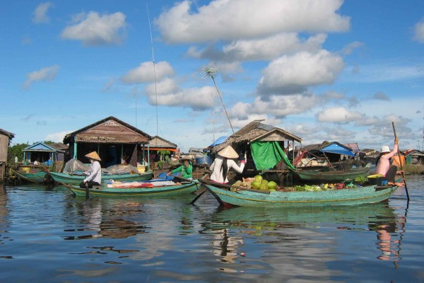 Tonle Sap Lake, Tonle Sap Lake in Siem Reap, Siem Reap