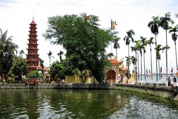 Tran Quoc Pagoda, Hanoi Pagoda, Hanoi Hotel