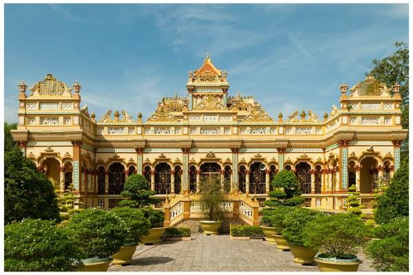 Vinh Trang Pagoda, My Tho, My Tho Boat Trip, My Tho Highlight