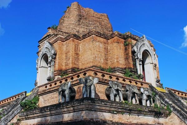 Wat Chedi Luang, Wat Chedi Luang in Thailand